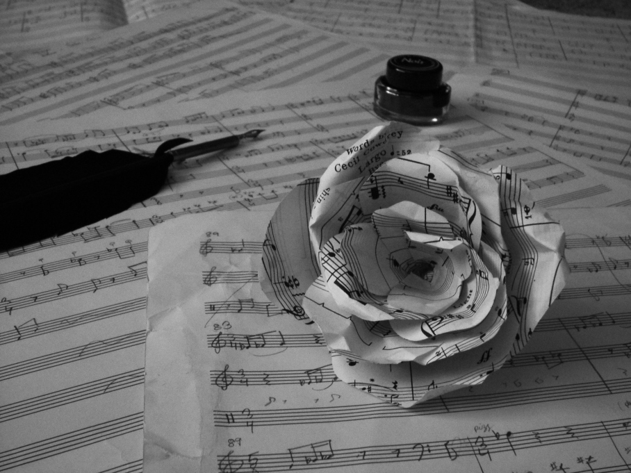 Sheet Music Rose 1